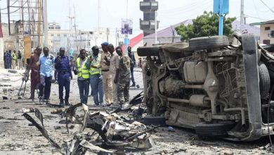 At least 9 dead in ongoing attack on Somali ministry