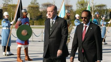 President Farmajo travels to Ankara to attend Erdogan's inauguration