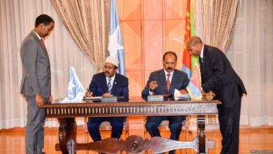 Photo of Eritrea-Somalia Joint Declaration on brotherly Relations and Comprehensive Cooperation