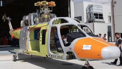 Photo of Turkish-made helicopter prototype ready for flight test