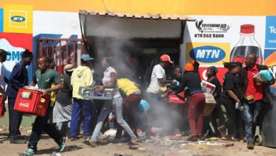 Photo of Soweto looting: 'I lost my brother because of looters – he died in my arms'