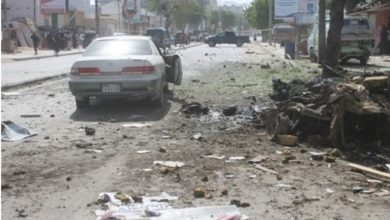 Photo of Three dead after bomb blast in centre of Somalia's capital Mogadishu