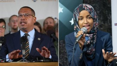 Photo of As Ellison departs Congress, Omar chases another first