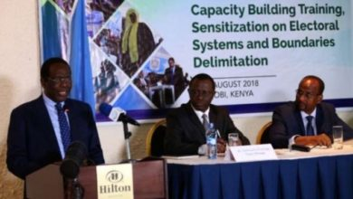 Photo of Somali poll officials meet in Kenya over boundaries delimitation