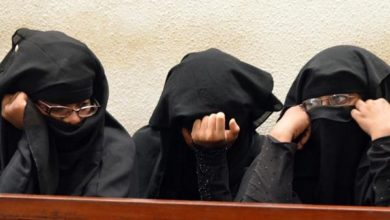 Photo of Terror suspects should not wear face veils in court