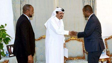 Photo of Somali delegation given explanation on QNV 2030