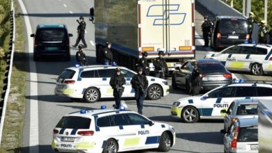 Photo of Denmark shuts links to Sweden and Germany as police hunt three in black Volvo