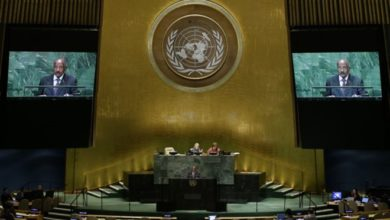 Photo of The Latest: Multilateralism main theme at General Assembly