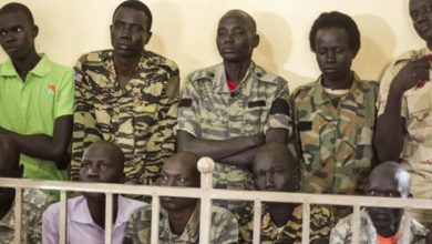 Photo of 10 S. Sudanese Soldiers Convicted in Deadly 2016 Hotel Raid