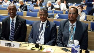 Photo of Somalia attending International Telecommunication Union (ITU) Plenipotentiary Conference