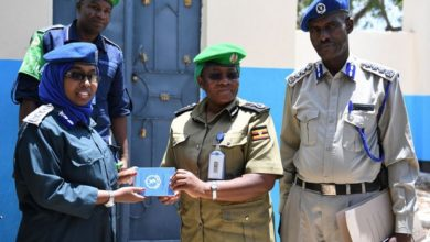 Photo of AMISOM Police hands over refurbished police station to Somali Police authorities