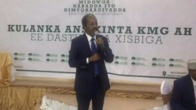 Photo of Former Somali president launches new political party