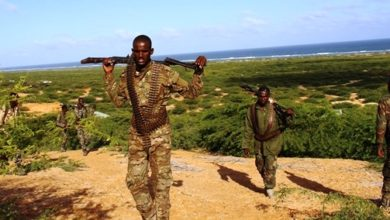 Photo of Somali, AU Troops Clash With Al-Shabab Fighters Near Qoryoley