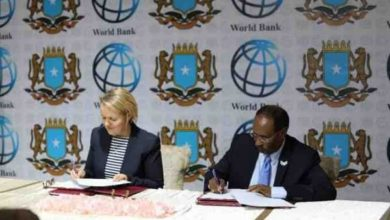 Photo of Somalia and World Bank ink $80m deal