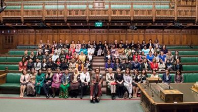 Photo of World's female MPs gather in London and pledge to form 'giant sisterhood'