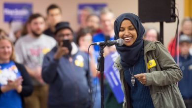 Photo of 'The lesson is to be hopeful': Ilhan Omar's journey from Somali refugee to US Congress