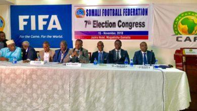 Photo of Abdiqani re-elected unpposed as Somalia FA boss