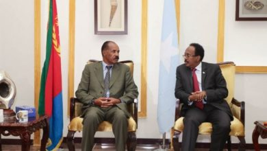 Photo of Somalia and Eritrea leaders agree to enhance two nations' relations