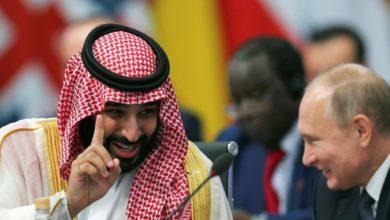Photo of Hearty handshake between Putin and Saudi crown prince goes viral