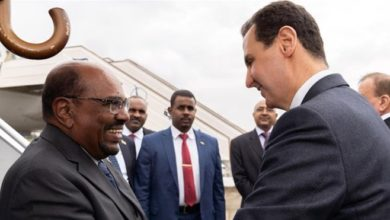 Photo of Sudan's Bashir first Arab leader to visit Syria since war began