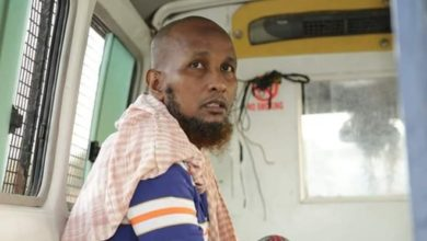 Photo of Al Shabaab bomber executed in Somalia
