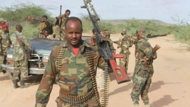 Photo of 4 al-Shabab fighters killed in Somalia