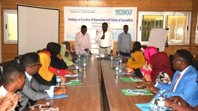 Photo of Freedom of expression and safety of journalists training targets young Somali journalists