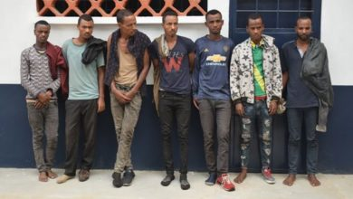 Photo of 7 Ethiopians nabbed in Jomvu on suspicion of human trafficking