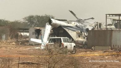 Photo of 3 dead as Ethiopian helicopter crashes at UN compound
