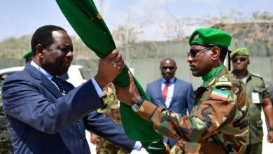 Photo of New Force Commander takes over at the helm of AMISOM military