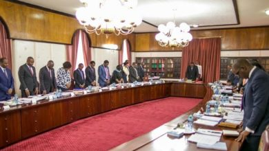 Photo of President Uhuru chairs Cabinet meeting on maritime dispute with Somalia