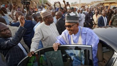 Photo of Muhammadu Buhari Wins Second Term as Nigeria's President