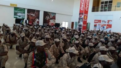 Photo of Ogaden National Liberation Front (ONLF) officially disarmed