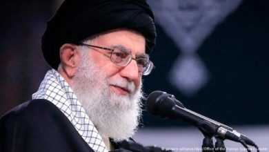 Photo of Iran's leader says 'Death to America' means to Trump, not people