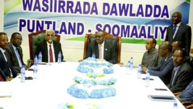 Photo of Puntland President Meets With His New Cabinet