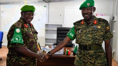 Photo of AMISOM's New Deputy Force Commander assumes office