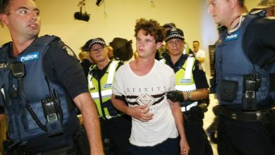 Photo of 'Eggboy' Will Connolly inspires people to donate $25,000 in support of Senator Fraser Anning egging