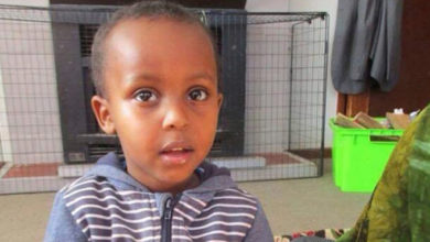 Photo of 3-year-old victim of mosque attack mourned