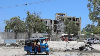 Photo of Al Shabaab attack on Somali government building ends with at least 15 dead