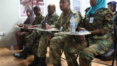 Photo of AU trains Somali security officers in tackling sexual violence