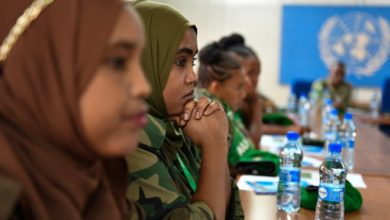 Photo of AMISOM roots for more women in peacekeeping operations