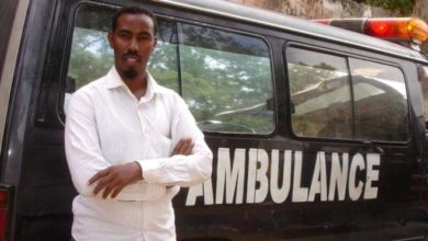 Photo of The man behind Somalia's only free ambulance service