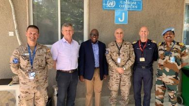 Photo of EU NAVFOR Commander arrives in Somalia, meets with international bodies