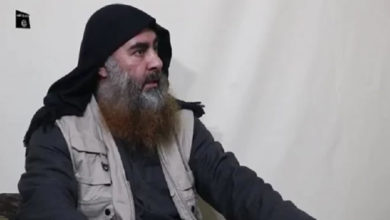Photo of ISIS leader Baghdadi appears in a video for the first time in five years