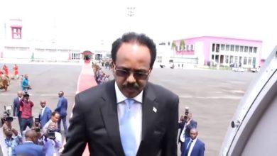 Photo of Somali President Leaves For Egypt