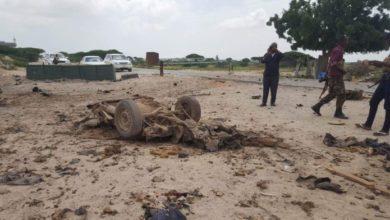 Photo of Roadside Bomb Hits Military Convoy Outside Mogadishu
