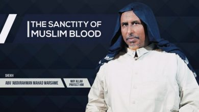 Photo of Shabaab official justifies attacks on civilians while preaching the sanctity of Muslim blood