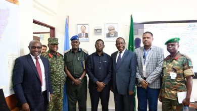 Photo of Senior Leadership of AMISOM meet with Governor of Lower Shabelle region to discuss liberated towns – Sabiid and Bariire