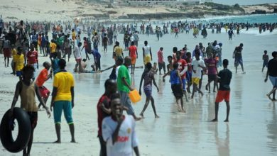 Photo of No one injured as car explodes near popular Mogadishu beach