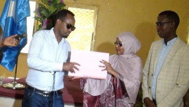 Photo of Somalia's first female mayor appointed in city of Beledweyne